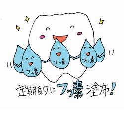 フッ素をぬって虫歯予防がしたい