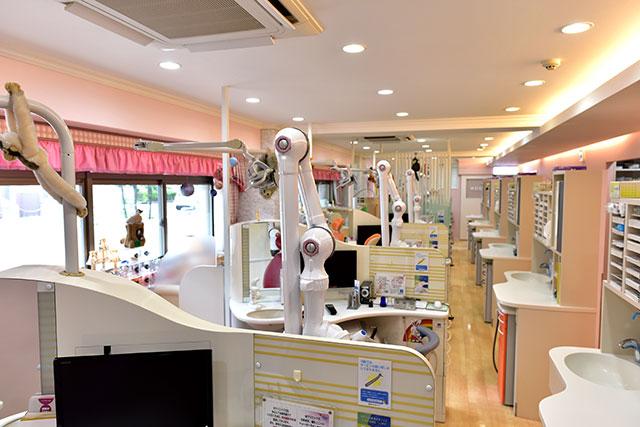 広い診療室